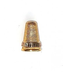 Thimble long fingernail damascene