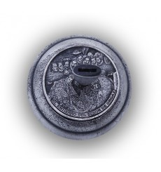 Greco piedistallo argento