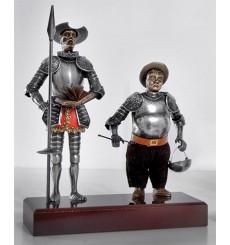 Quijote und Sancho Paar