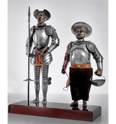 Quixote and Sancho couple