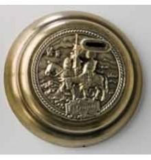 Base - Quixote in brass